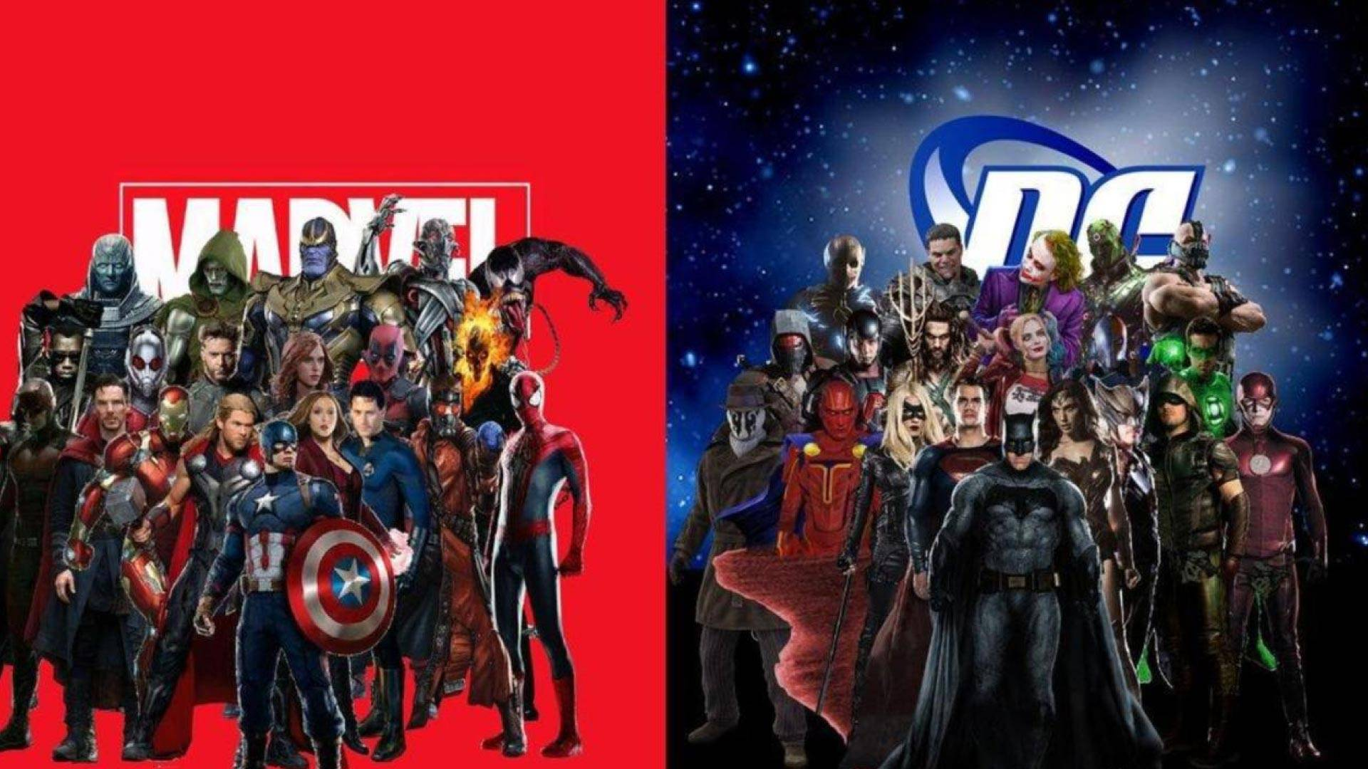 Marvel Vs Dc Some Honest Thoughts And Feelings Screen Robot