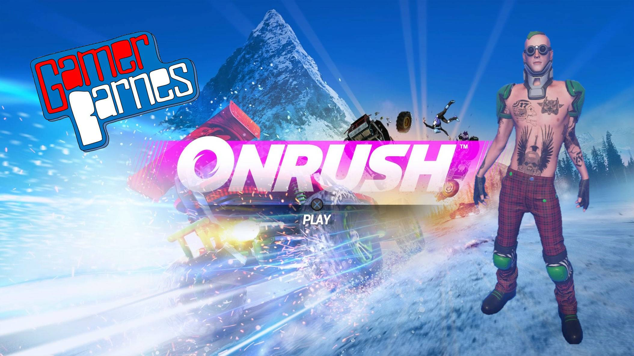 Onrush Review - PS Plus Free Game - December 2018 - Screen Robot
