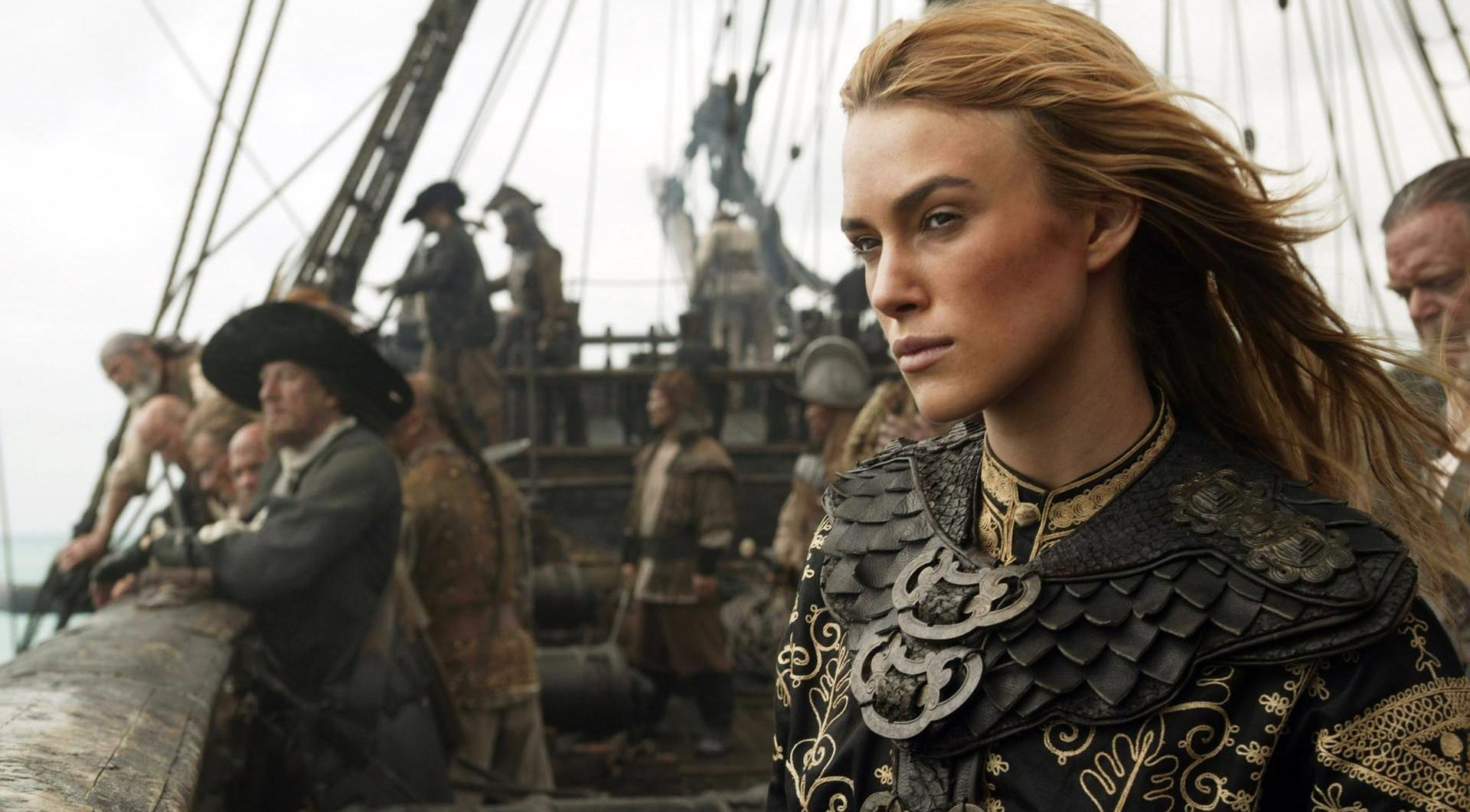 pirates of the caribbean keira knightley